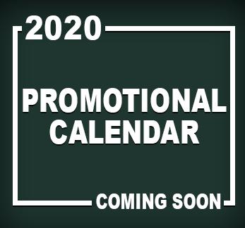 promotional calendar 2020