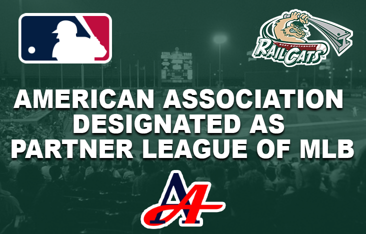 American Association Designated as Partner League of MLB