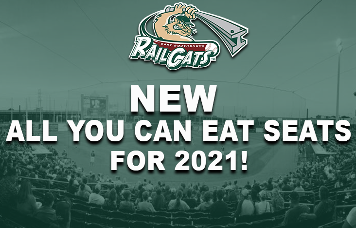 RailCats Announce New Everything Seats for the 2021 Season