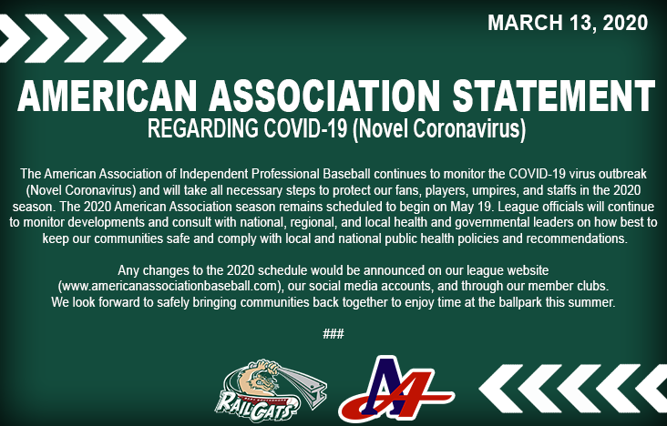 The official statement from the American Association regarding COVID-19